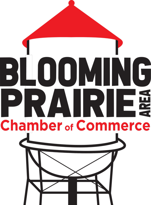 Blooming Prairie Area Chamber Of Commerce Logo